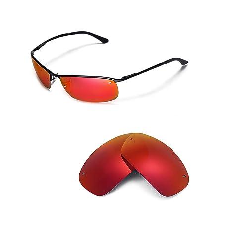 riesige Auswahl an 1d24d 2822c Walleva Ersatzgläser für Ray-Ban RB3183 63mm Sonnenbrille - Mehrfache  Optionen
