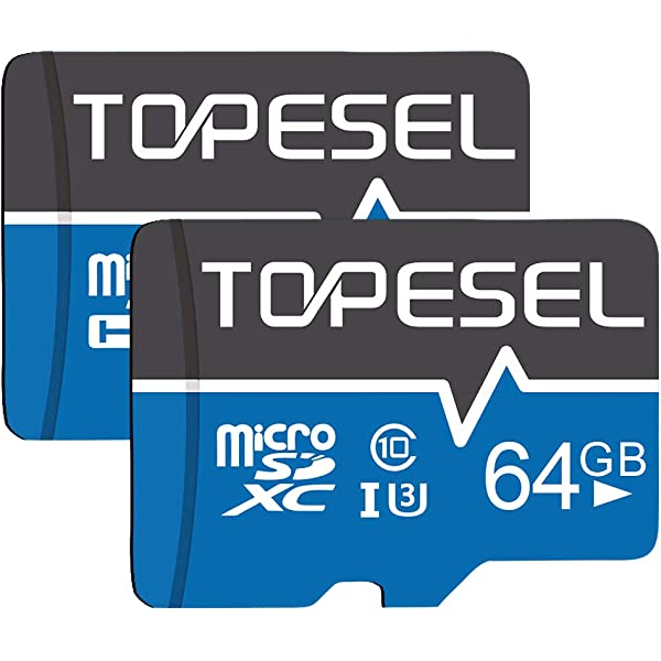ARCANITE - Paquete de 2 tarjetas de memoria microSDXC de 64 ...