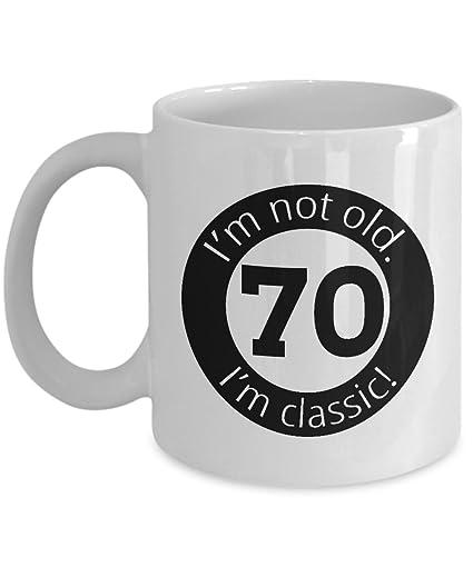 Im Not Old 70th Birthday Mug