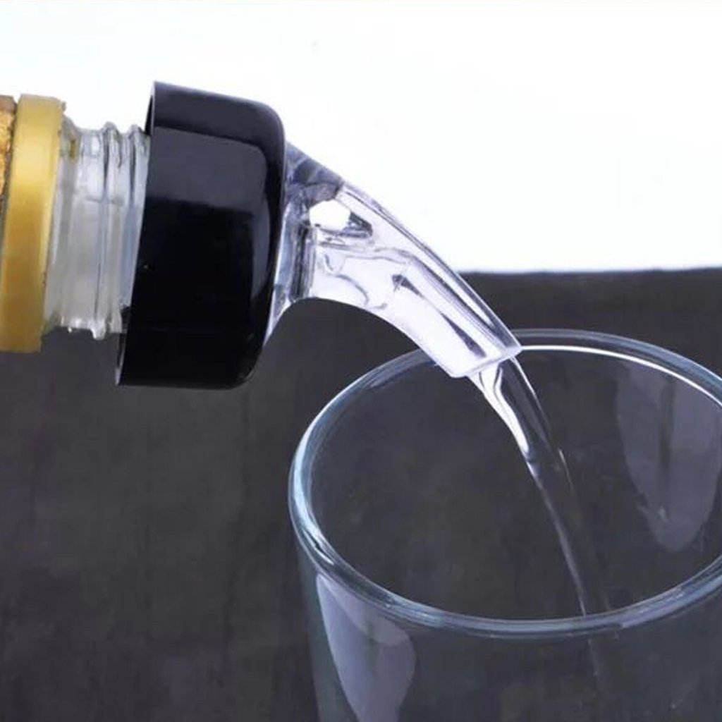 JENOR 30ml Quick Shot Spirit Measuring Pourer Drinks Wine Cocktail Dispenser