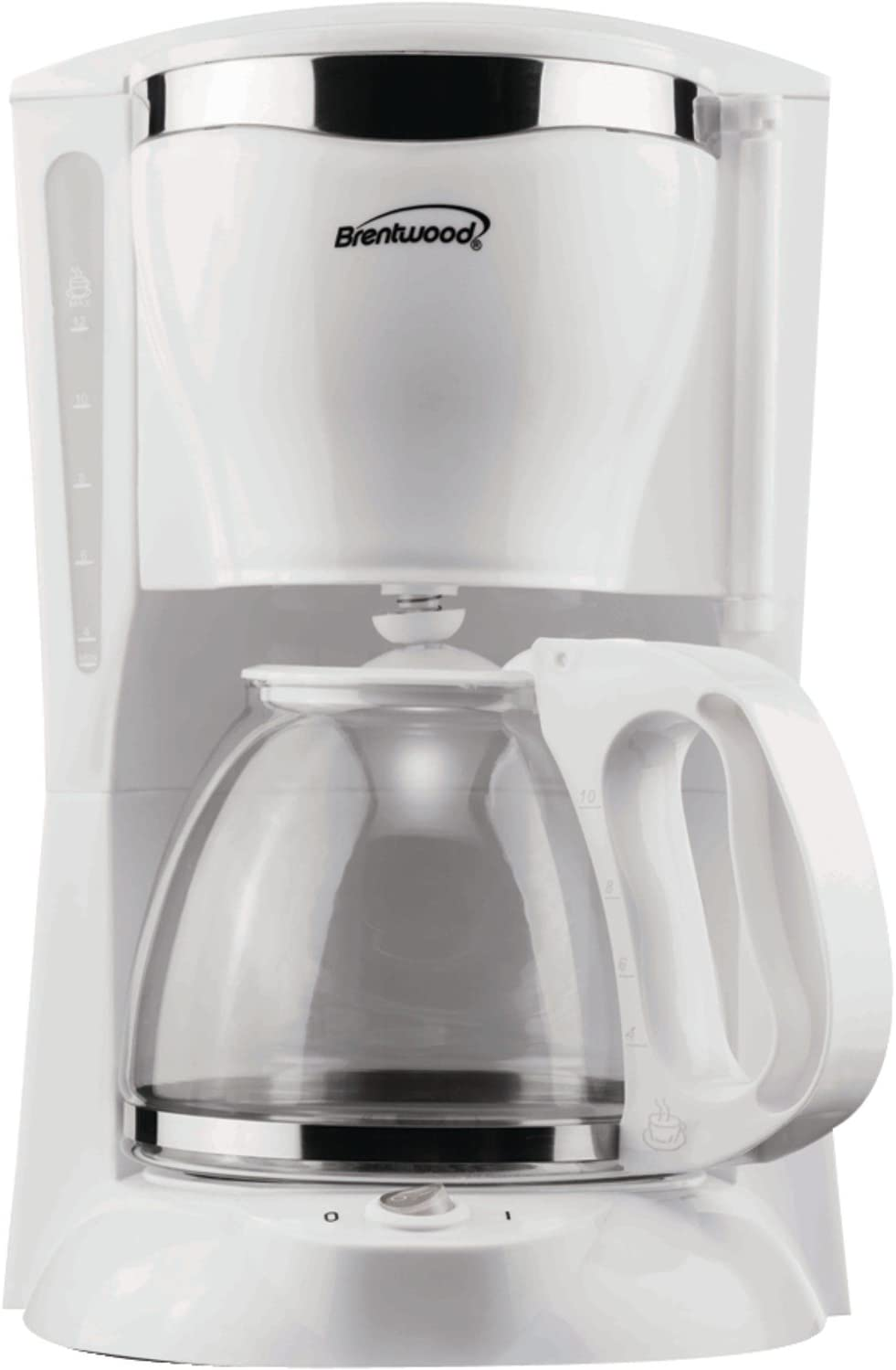 Brentwood Coffee Maker, 12-Cup, White
