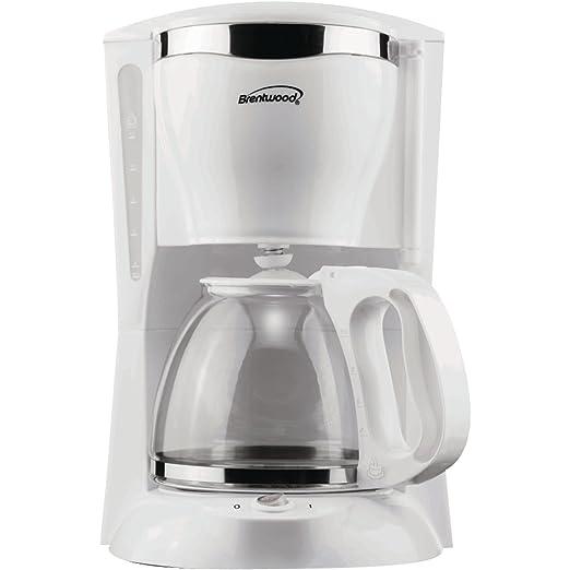 Brentwood ts-216 aparatos 12 taza cafetera eléctrica, color blanco ...