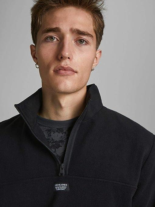Jack /& Jones Mens Jcomick Sweat Fleece Half Zip Sweater