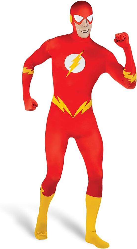 Disfraz Flash Súper heroe hombre. Marvel Superhero hombre bala ...