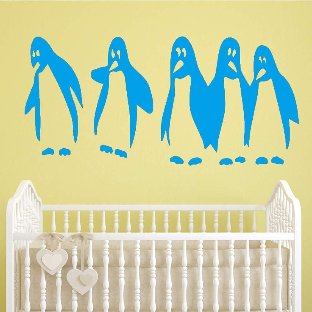 yiyiyaya Divertido Pingüino Etiqueta de La Pared Pegatinas de ...