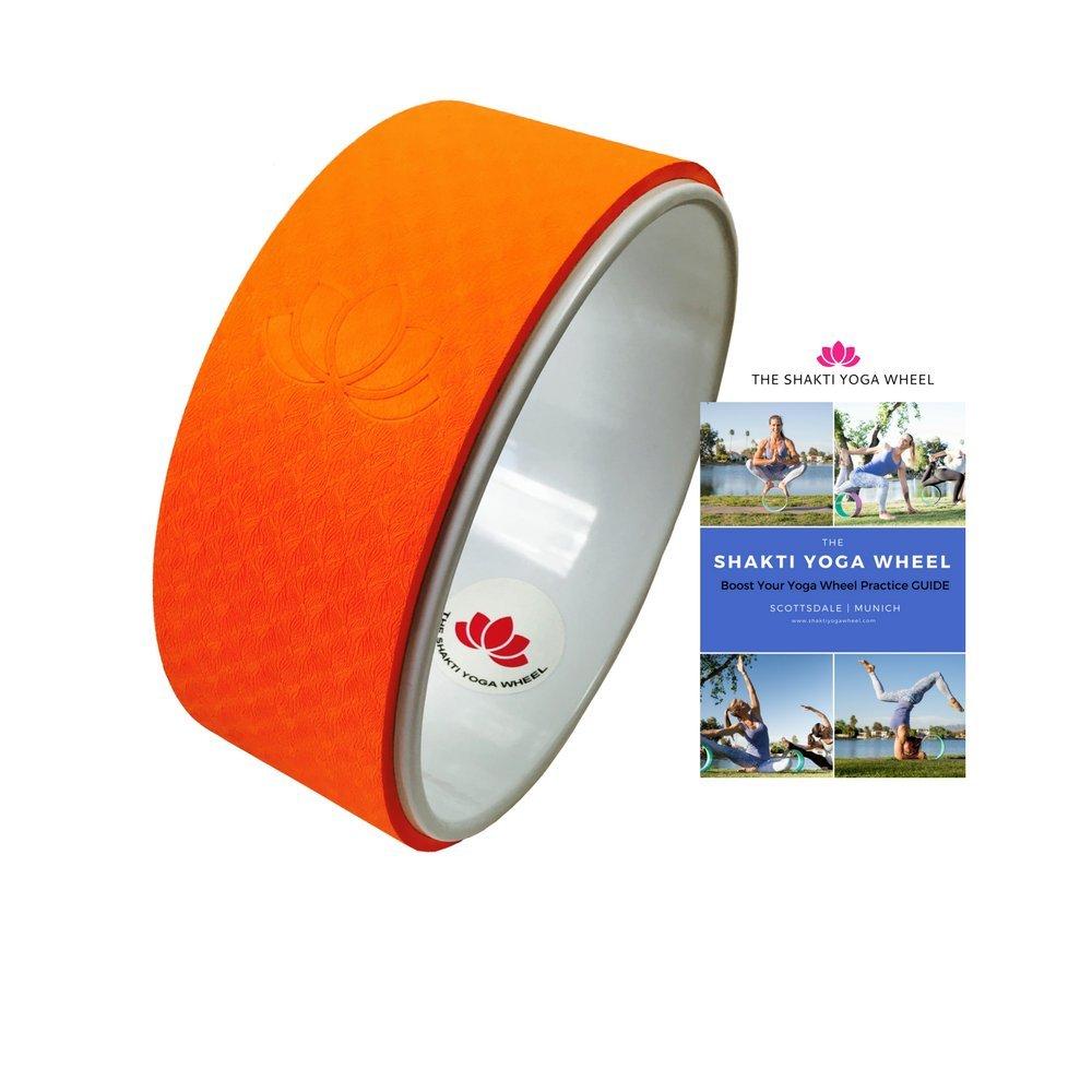 The Shakti Yoga Wheel - Orange imprint