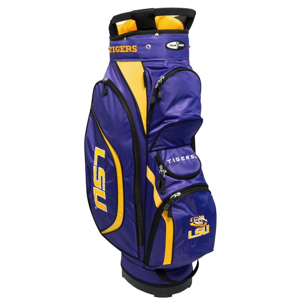 Team Golf NCAA Clubhouse Cart Bag, LSU by Team Golf (Image #1)
