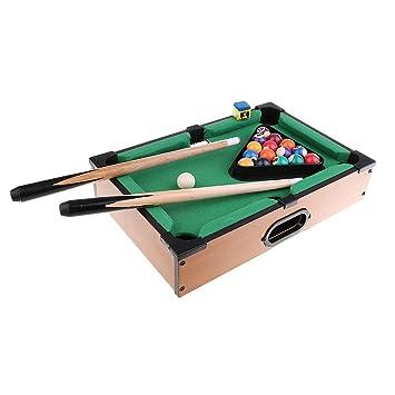 MonkeyJack Mini Tabletop Pool Table Desktop Billiards Play Sports Kids Toys  Xmas Gift