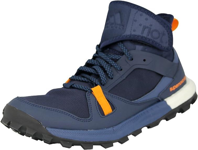 adidas Supernova Riot M, Zapatillas de Running para Hombre, Negro/Azul/Naranja (Maruni/Azumin/Eqtnar), 47 1/3 EU: Amazon.es: Zapatos y complementos