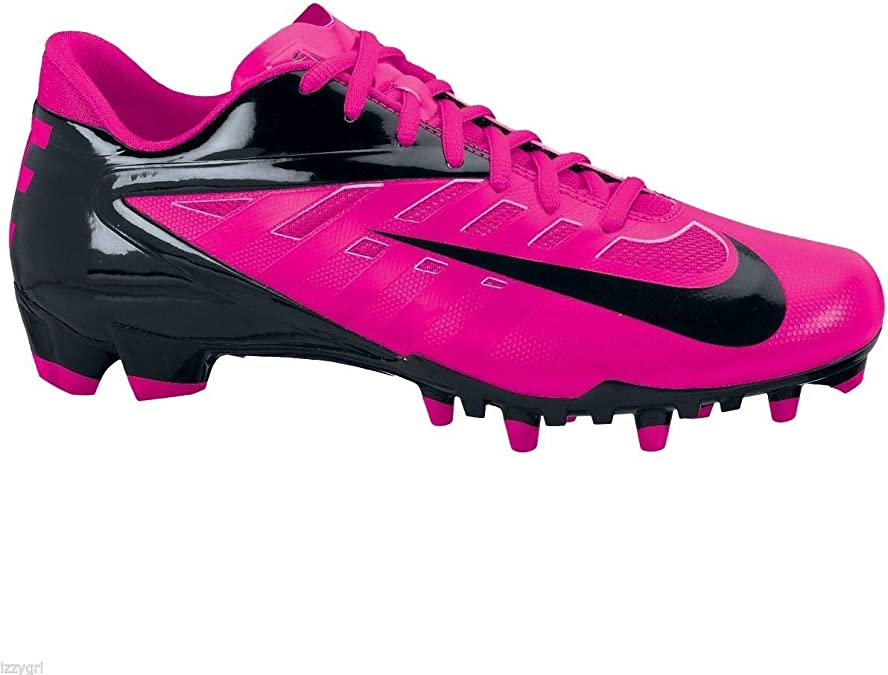 Pink Breast Cancer Football Cleats