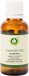 R V Essential Cannabis Oil 50ml (1.69oz)- Cannabis Sativa (Natural and Cold Pressed)