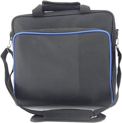 Zerich Bolsa de llevar caso resistente Durable Portable de Nylon tafetán viaje bolso videojuego consola PlayStation PS4 PS4 Slim y PS4 Pro #81050: Amazon.es: Electrónica