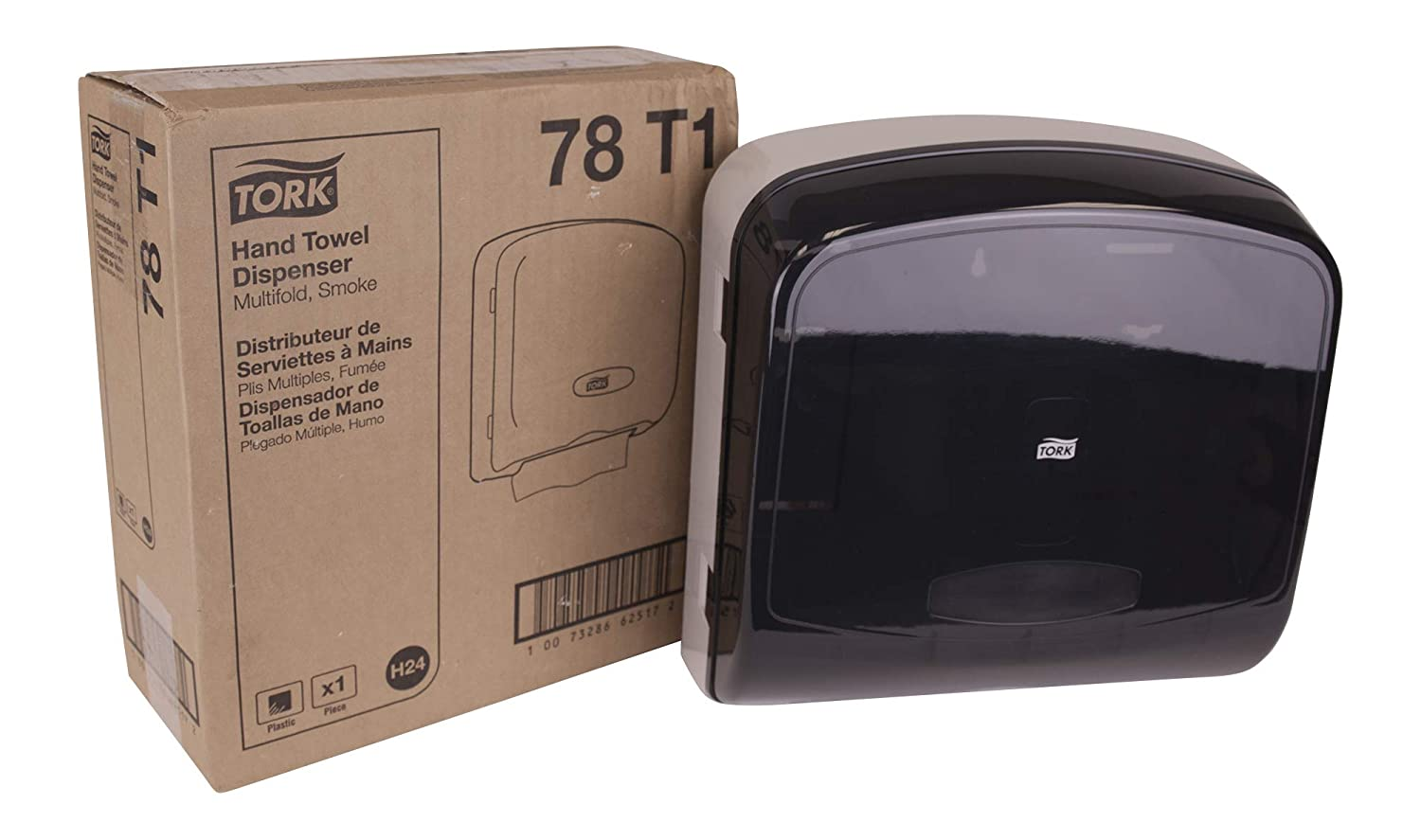 Tork 78T1 Multifold Hand Towel Dispenser, Plastic, 13.0