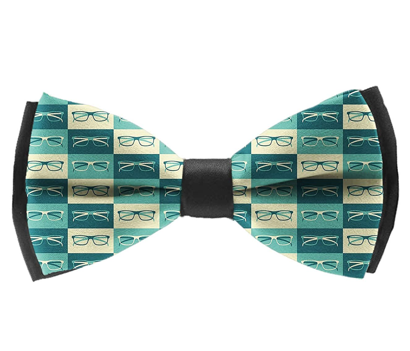 Bow Tie Eyeglasses In Vintage Adjustable Bowtie for Wedding Party