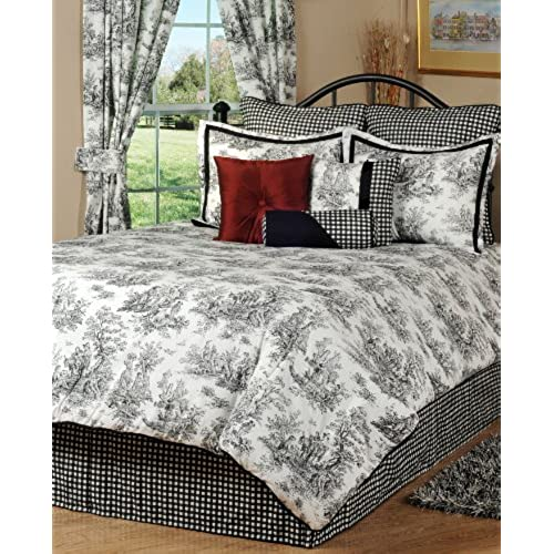 victor mill jamestown comforter set queen - Toile Bedding