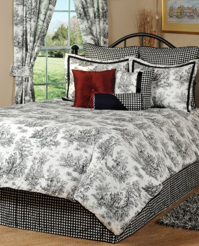 (Victor Mill Jamestown Comforter Set, Queen)
