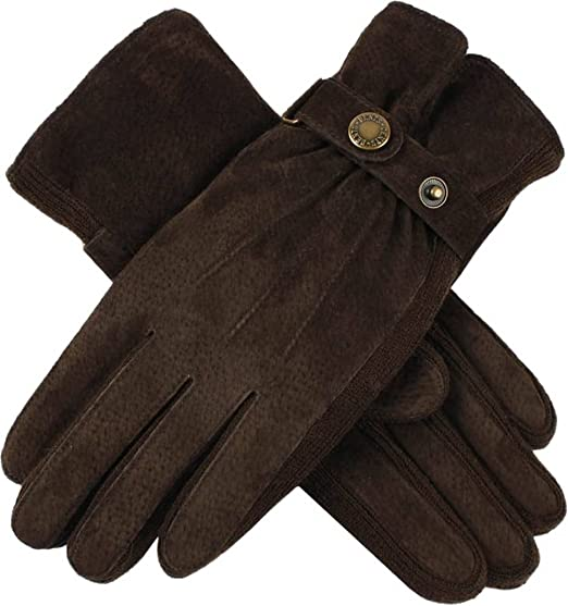 e35a5d0e65a Dents Womens Laura Strap Detail Suede Gloves - Mocca Brown at Amazon ...