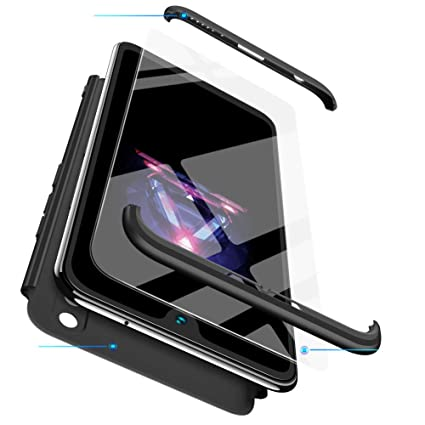 BESTCASESKIN Funda Xiaomi Redmi 4X, Carcasa Móvil de Protección de 360° 3 en 1 Desmontable con HD Protector de Pantalla Carcasa Caso Case Cover para ...