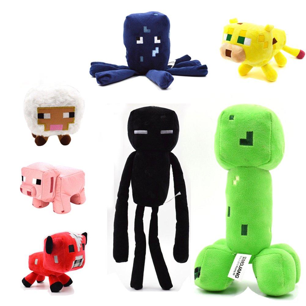 TISEA Hot Game Animal Plush Series (One Set 7 Pcs, 13-25cm)