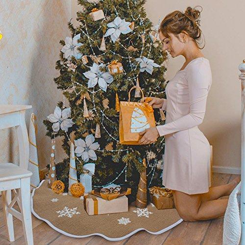 2 Aytai Christmas Snowflake Printed Decorations