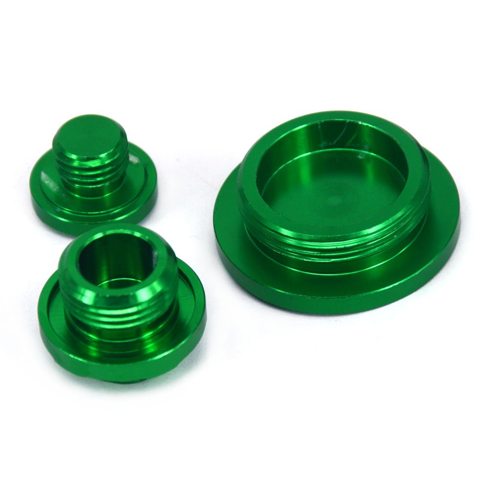 Engine Timing Oil Filter Plug Set For KX250F 11-16 KX450F 09-16 KLX450R 08-15 Dirt Bike Motocross Off Road Dirt Bike