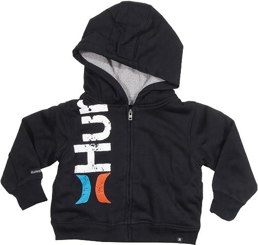 Hurley Toddler Hoodie Size 3T Sherpa Wool Lined  Hoody