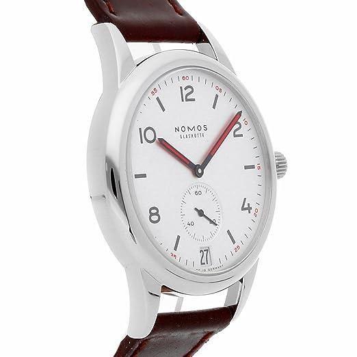 Nomos Glashutte Automat Datum automatic-self-wind reloj para hombre 771 (Certificado) de segunda mano: Nomos Glashutte: Amazon.es: Relojes