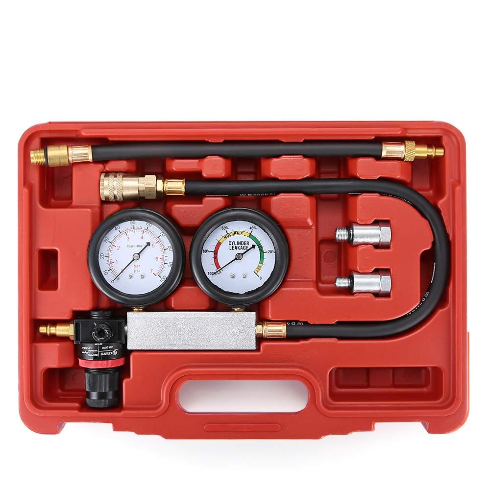Sholer Car Cylinder Leakage Tester Meter Kit