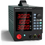 Programmable 30V/10A DC Power Supply Variable, Adjustable Switching Regulated Power Supply with 4-Digit Large Display…