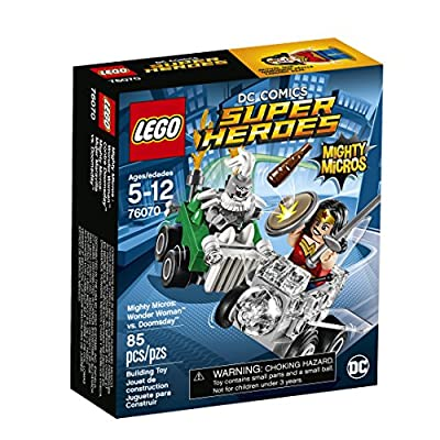 LEGO Super Heroes Mighty Micros: Wonder Woman Vs. Doomsday 76070 Building Kit: Toys & Games