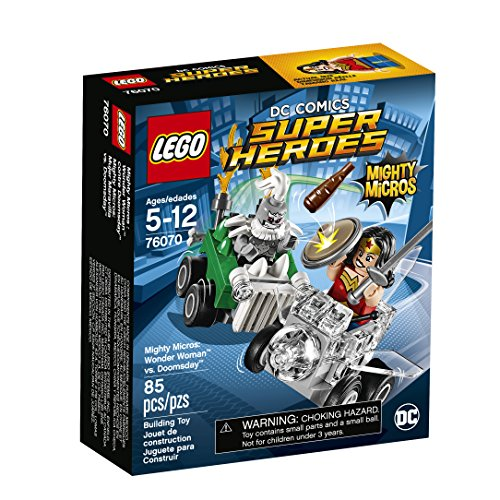 Doomsday Figure Set - LEGO Super Heroes Mighty Micros: Wonder Woman Vs. Doomsday 76070 Building Kit