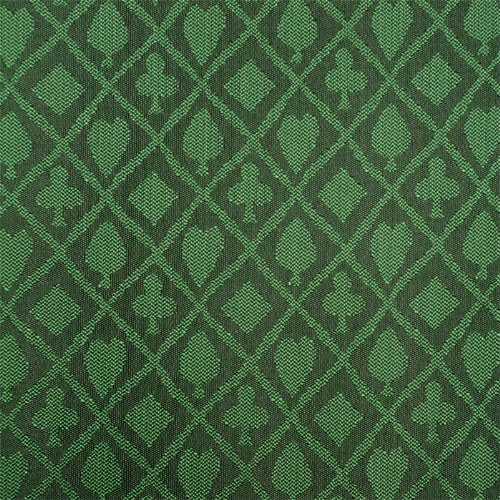 Stalwart 3 Yards of Suited Waterproof Poker Table Cloth, Emerald Green (Green Felt Poker Table)