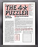 img - for The Four-Star Puzzler - November, 1982: Issue 23. Puzzles from Games Magazine: Anacrostic (Acrostic), Crosswords, Cryptic, Cryptograms, Logic, more. book / textbook / text book