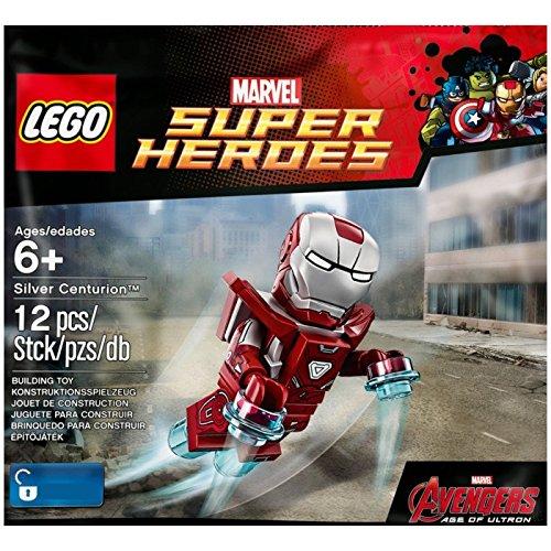 Building Iron Man Suit - LEGO Super Heroes: Silver Centurion Exclusive