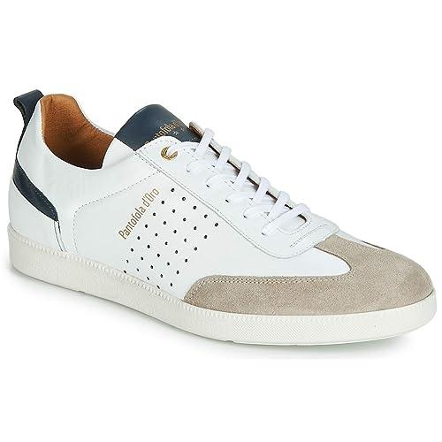 Pantofola d'Oro Herren Imola Funky Uomo Low Sneaker, Weiß