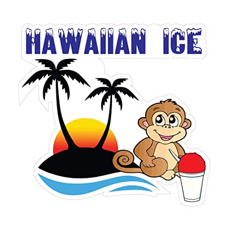 Monkey Concession Food Truck Sticker Coffee DECAL Choose Your Size