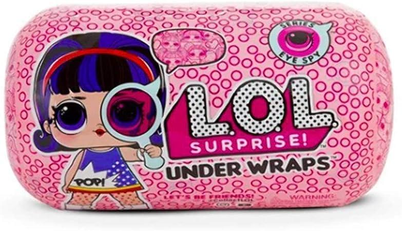 Amazon.es: L.O.L. Surprise!! - 552048E7C. Muñeca Under Wrap. Serie Eye Spy.: Juguetes y juegos