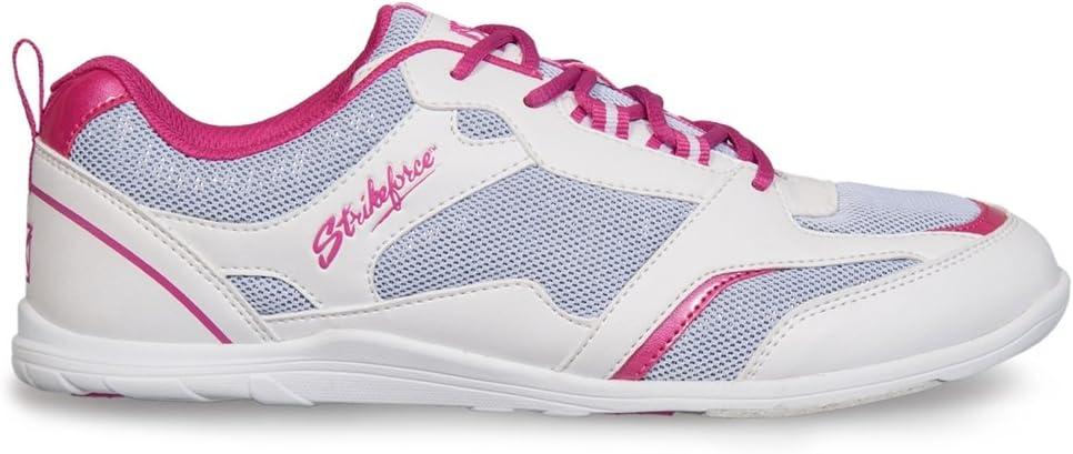 Strikeforce Spirit Bowling Shoes White Fuchsia