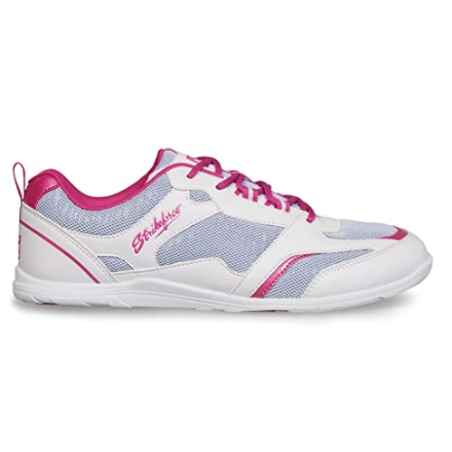Strikeforce Ladies Spirit Lite Bowling Shoes- White/Fuschia