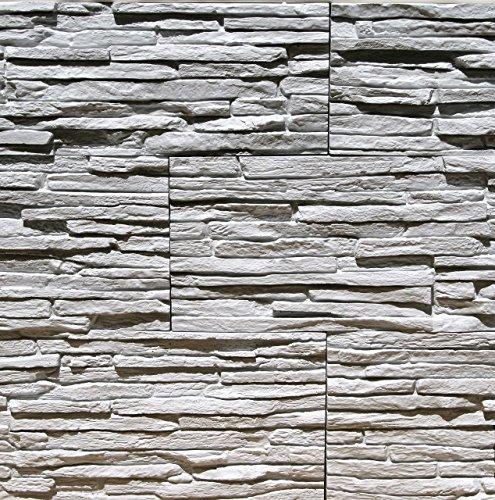 Sample Of Gypsum Stone-Look Wall Decor Pegasus Light Gray