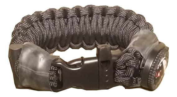 Tactical Operator Band Paracord Survival Armband mit Firesteel ...