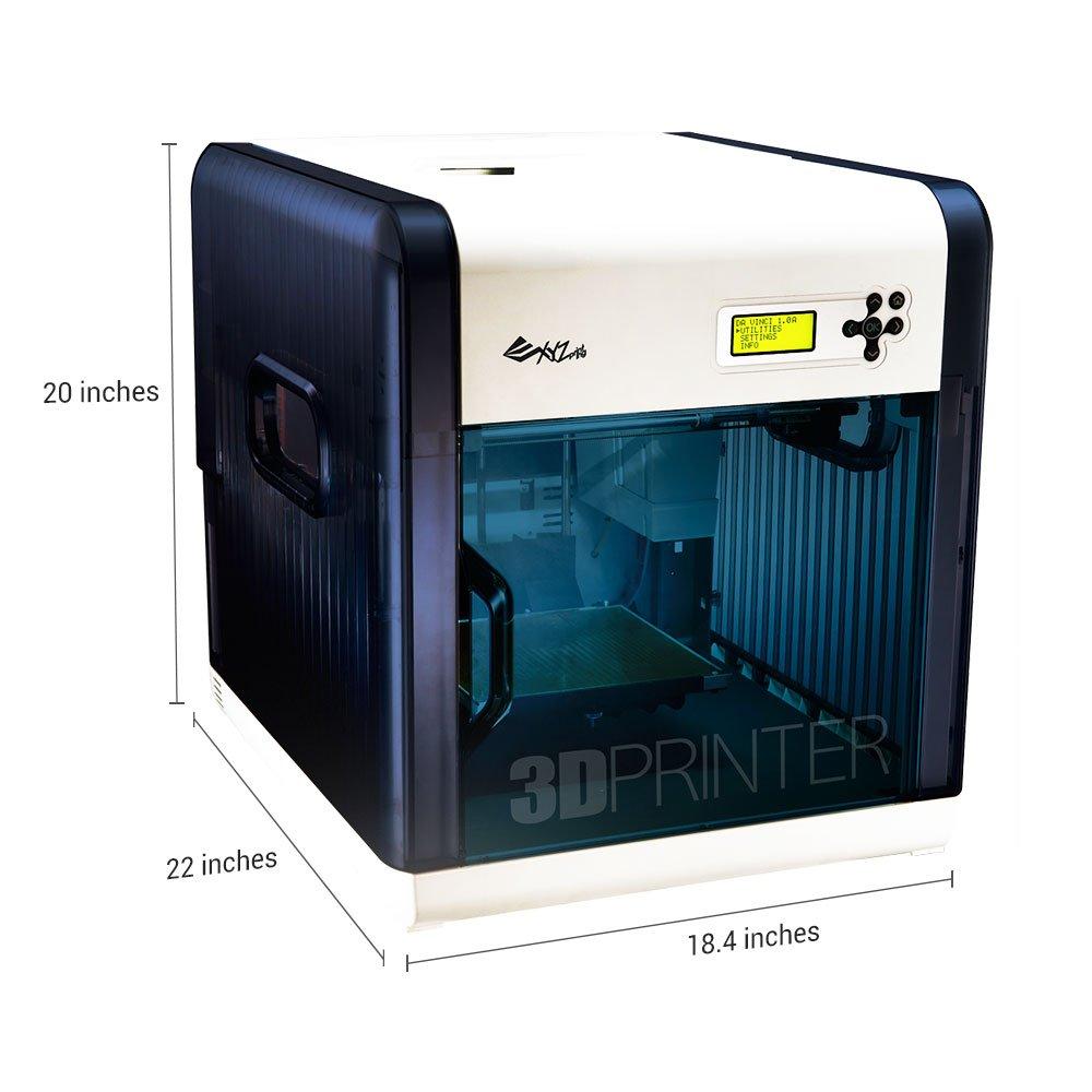 XYZ Printing Impresora 3D da Vinci 1.0, volumen de construcción de ...