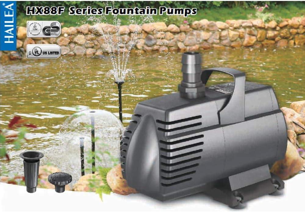 Hailea HX 8840F Umw/älzpumpe Pumpe Filterpumpe 70W 4000 L//h F/örderh/öhe 3m