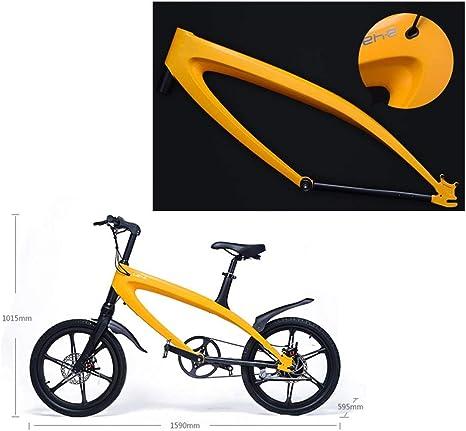 MERRYHE Bicicleta eléctrica Ciudad Bicicleta de montaña Extraíble ...