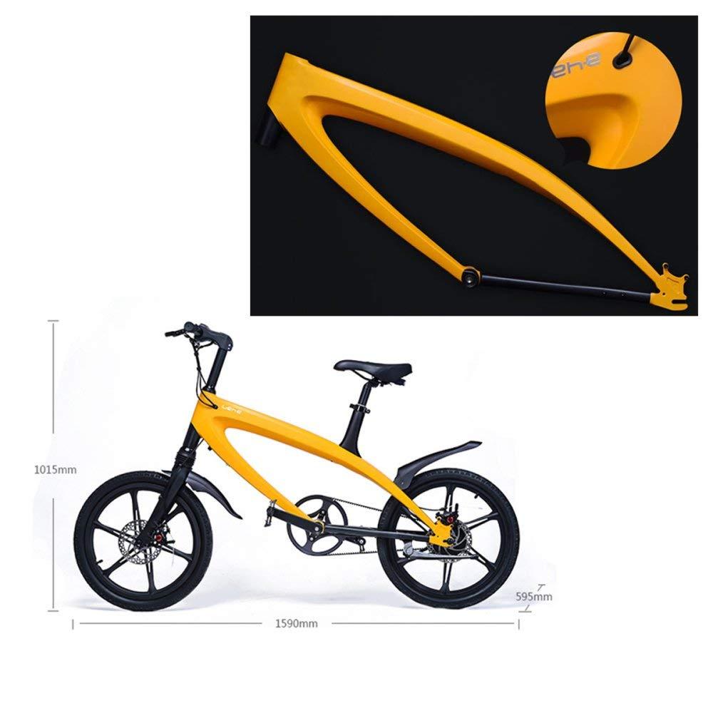 BNMZX Bicicleta eléctrica Montaña Bicicleta de la Ciudad Bluetooth Bicicleta ciclomotor - Construido en Litio Desmontable Estéreo Mountain Simple,B-36V5.8AH