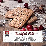 Quaker Breakfast Flats, Variety Pack, Banana Honey Nut & Cranberry Almond, Pack of 4 Boxes, 5 Bars Per Box