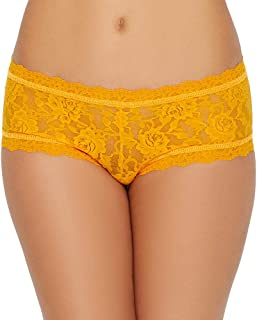 product image for hanky panky Signature Lace Boyshort, X-Small, Clementine