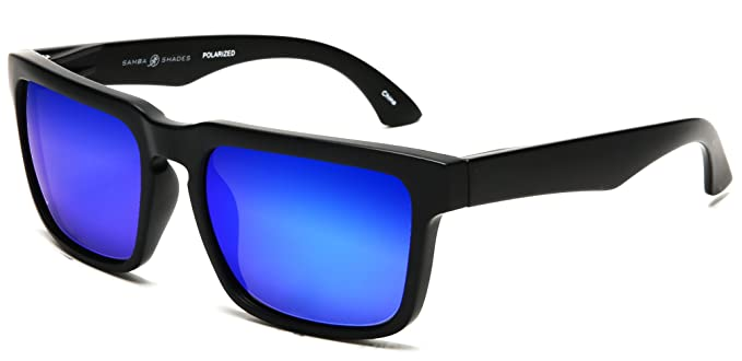 b9d839b061 Samba Shades Polarized Sport Riviera Classic Bole Sunglasses with Matte Black  Frame