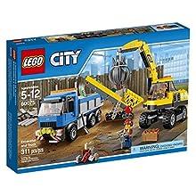 LEGO City Demolition Excavator and Truck