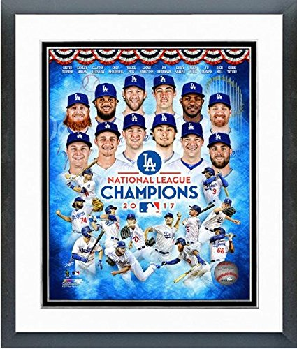 (Los Angeles Dodgers 2017 National League Champions Photo (Size: 12.5